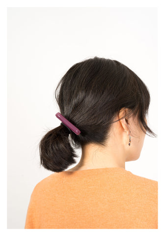 Handle Resin Hairband Purple - whoami