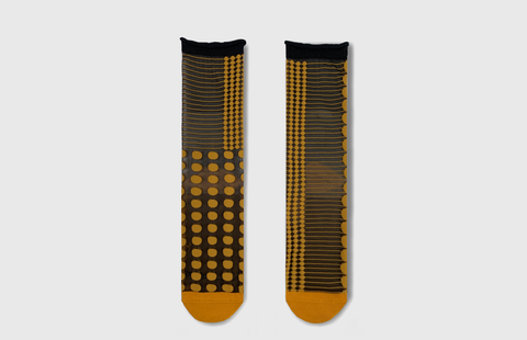 Midcalf Tulle Socks Honey Dot - whoami