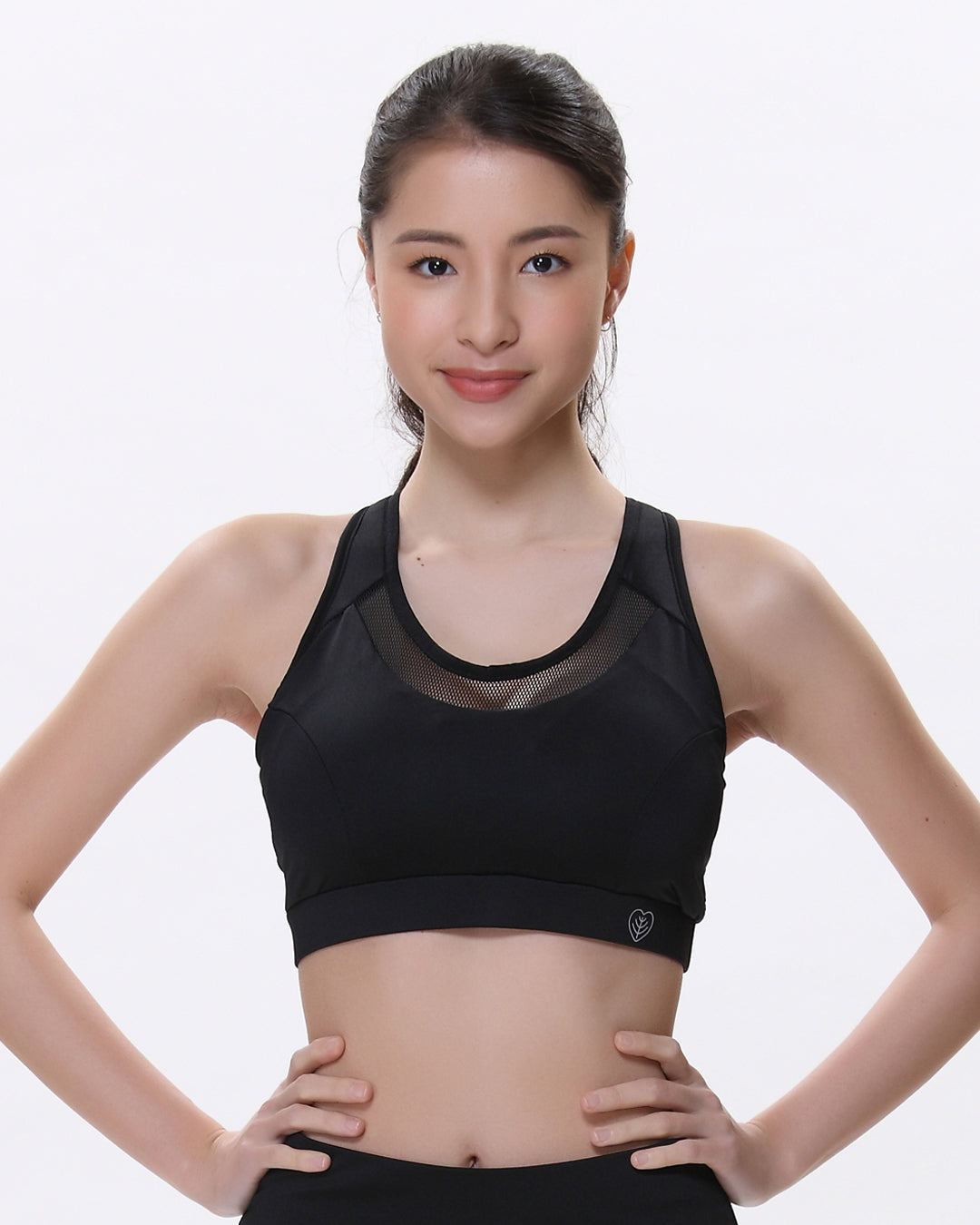 Kari High-Impact Bra Black - whoami