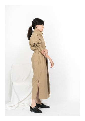 Workware Dress Camel