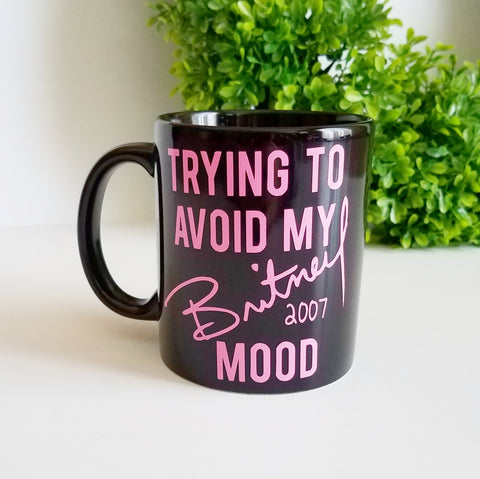 Britney Spears Meltdown Coffee Mug - A Little Lady And Me