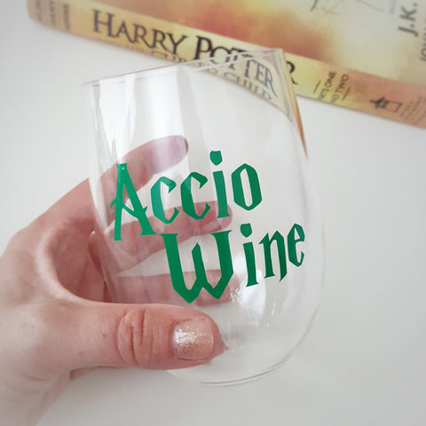Accio Wine Glass