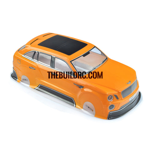 1/10 Yellow PVC Bentley Body Shell for RC On Road Drift Car