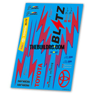 BRITZ Aqueous Transfer Ultra-thin film Decals (1pc)