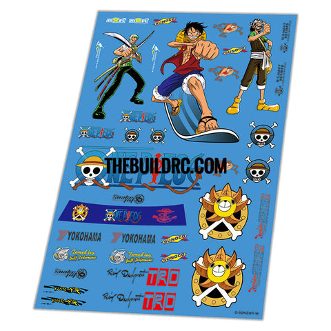 One Piece Aqueous Transfer Ultra-thin film Decals (1pc)