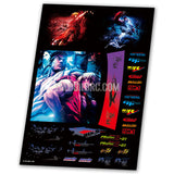 Street Fighter Aqueous Transfer Ultra-thin film Decals (1pc)