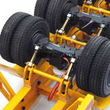 "[TEST Bundle product] 1/14 40"" 3 axle electric support leg skeletal container chassis and 20"" container comb"