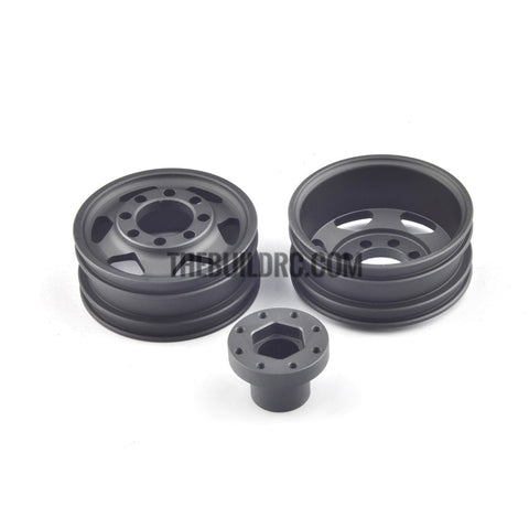 1/14 Aluminum Rims 4 pcs compatible with Tamiya