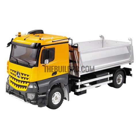 1/14 2-axis square bucket dumper truck kit (plastic version) compatible with Tamiya