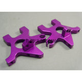 Alloy Rear Bulkhead for White Wolf Drift Car - Purple