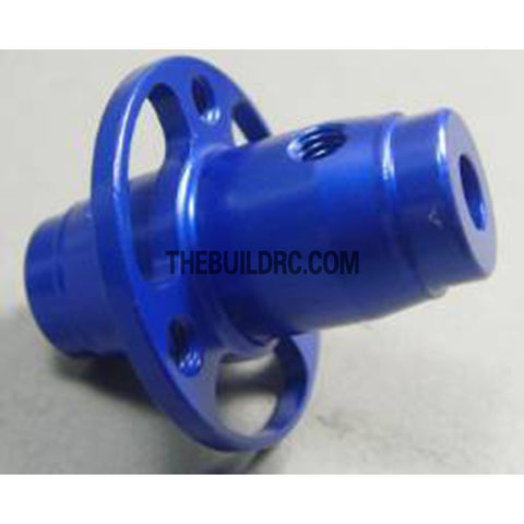 Alloy Rear Fixed Axle for White Wolf Drift Car - Blue