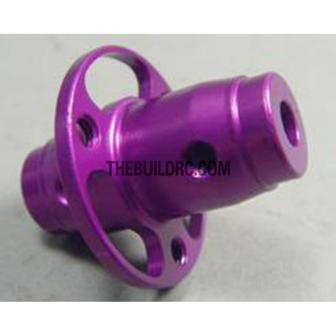 Alloy Rear Fixed Axle for White Wolf Drift Car - Purple