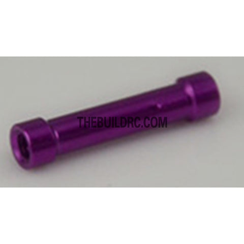 Alloy Motor Mount Shaft for White Wolf Drift Car - Purple
