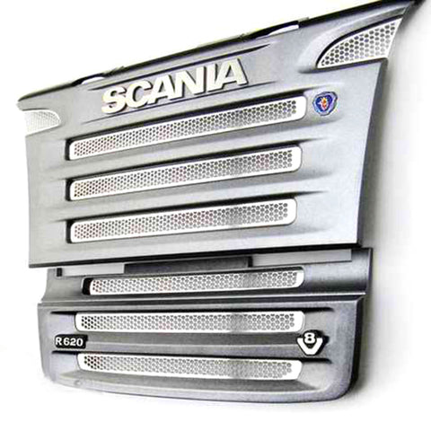 Metal front grille for 1/14  tamiya Scania R470 R620