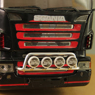 1/14 RC Bottom Aux Light Set for Crawler Truck , Scania, Mercedes-Benx and Volvo Truck with trapezoid bar