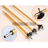 RC Boat ??4.0 x 245mm(L) Metal Drive Shaft + 200mm(L) Metal Tube + Cone Nut + Peep Fork