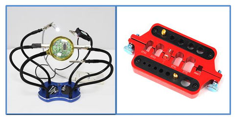 Hobby Helping Hands/Soldering Station + Banana Plugs Multifunctional Welding Station Bundle