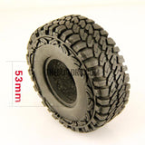 "RC 1:10 Rock Climbing Car Racing Tires Tyre 1.9"" 90mm 1 PCS for RC4WD F350 SCX10"