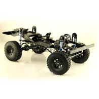 D90 V2 1/10 Scale Defender Chassis Fully CNC Metal Electric 4X4 RC Truck D90II