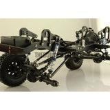D90 V2 1/10 Scale Defender Chassis Fully CNC Metal Electric 4X4 RC Truck D90II Suspension travel edition