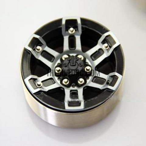 "1.9"" Scale Beadlock Wheel for 1/10 RC Crawler D90 SCX10 RC4WD CC01(version 11) 1pc"