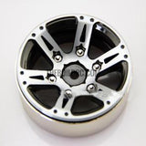 "1.9"" Scale Beadlock Wheel for 1/10 RC Crawler D90 SCX10 RC4WD CC01(version 12) 1pc"