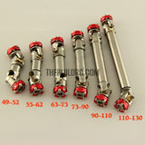 63-73mm Steel Drive Shaft D90 Scale Crawler Axial RC4WD Scx10 (version A)