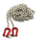RC Dragging chain hook for For 1/10 SCX10 CC01 D90 Rock Crawler/Buggy