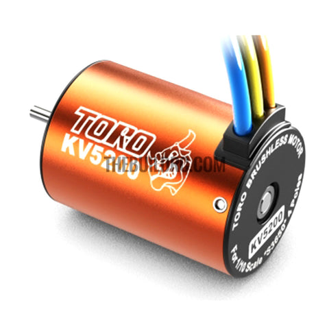 Toro 5200KV/4P BL Motor for 1/10 Car