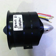 90mm 11-Blades 3553-1450kv Brushless Ducted Fan for RC Models