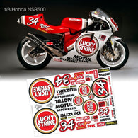 1/8  Lexan Clear Body Shell for  NSR500 BIKE BODY-34