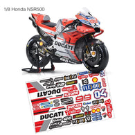 1/8  Lexan Clear Body Shell for  NSR500 BIKE BODY-99