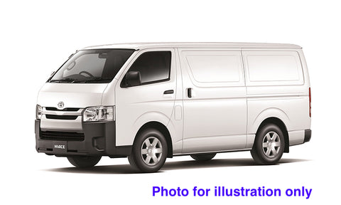 Details about  /1//10 Lexan Clear RC Car Body Shell for TOYOTA HIACE VAN