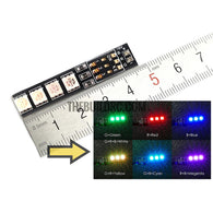 RGB LED Lamp Panel 16V 4S Lipo 7 Colors Switch For FPV Helicopter Multi-axis
