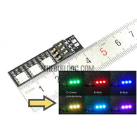 RGB LED Lamp Panel 5V 7 Colors Switch For FPV Helicopter Multi-axis