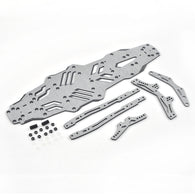 Carbon Fiber Upgrade Parts for MST-RMX2.0-S (Silver)