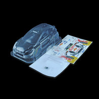 1/10 Lexan Clear RC Car Body Shell for 1/10 MINI FORD RALLY 210mm