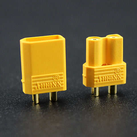 AMASS XT30 2mm small current model plug (Male and Female pair)