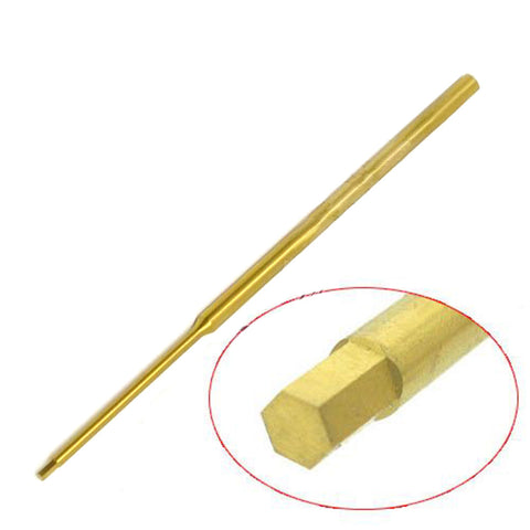 Titanium Hexagonal screwdriver made of super-hard high-speed steel 2MM