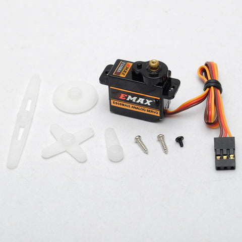 Emax 9g micro analog servo with metal gear ES08MA II for RC planes and Helicopters