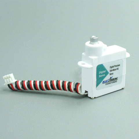 D05010MG 5.7g / .61kg / .07sec Digital Metal Gear Micro Servo - white