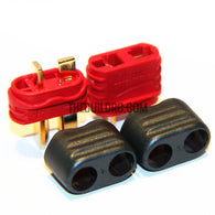 AMASS ANTI-SKID T PLUG CONNECTOR FOR RC ESC BATTERY (male and female pair)