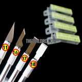 Ultra Sharp Metal Chisel blade 17# (10 pcs/box)
