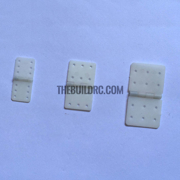 Main wing and flap hinge for RC plane available in large, medium and small