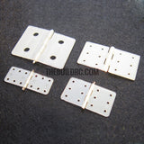 Main wing and flap hinge for RC plane 20mm x 36mm 1pc