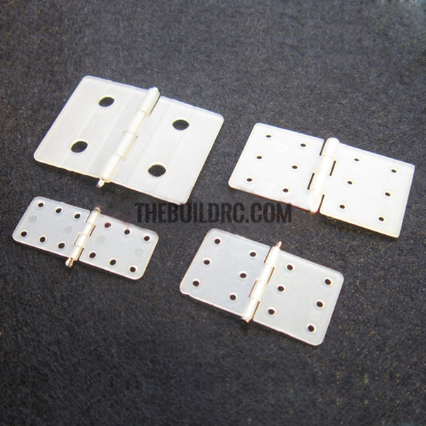 Main wing and flap hinge for RC plane 27mm x 36mm 1pc