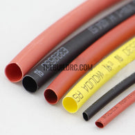 ??2mm Black Heat shrink tube banana plug and T plug 100mm long