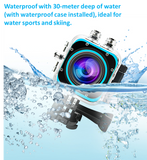 Cube 360S 360 Degree Waterproof Panoramic Sports Camera with WIFI