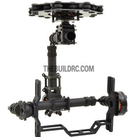 3-Axis Professional Mixed Fiber Brushless Motor Camera Gimbal (Multi-chopper Version)