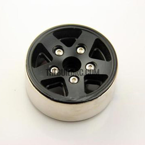 "1.9"" Scale Beadlock Wheel for 1/10 RC Crawler D90 SCX10 RC4WD CC01(version 3) 1pc"